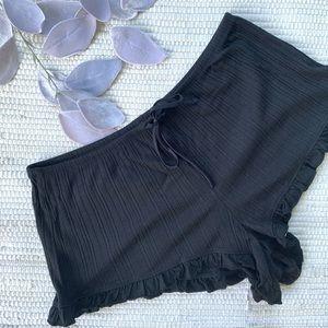 NWT Victoria's secret black pajama shorts F-045